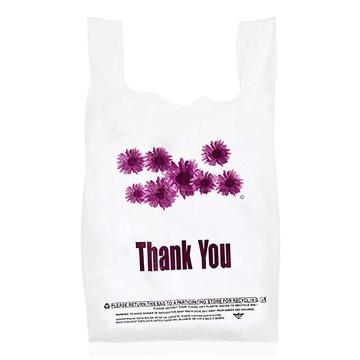 Bolsas biodegradables para camisetas de compras