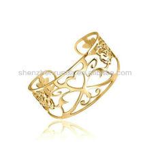 Brazaletes al por mayor del acero inoxidable para las pulseras del encanto de las mujeres para las muchachas