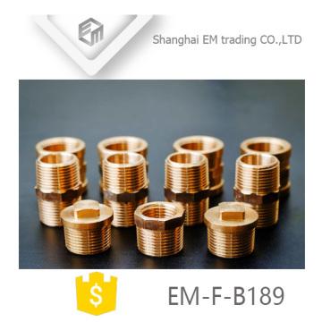 ЭМ-Ф-B189 резьба латунь штепсельная вилка штуцера трубы