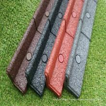 Garden Rubber Granules Rubber Edge Broder/Rubber Paver Dege Product