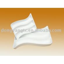 Plato dividido en porcelana de 7 pulgadas y 11 pulgadas
