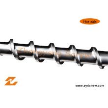 Bimetallic Screw Barrel for Pipe Extruder Extrusion Screw Barrel