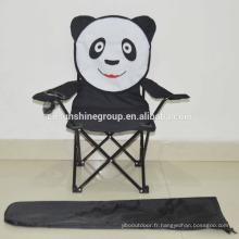 Pliante chaise bébé de dessin animé, animal enfants chaise avec 210D sac, fort chaise pliable enfants