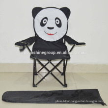 Folding cartoon baby chair, animal kids chair with 210D carrying bag,Strong foldable kids chair