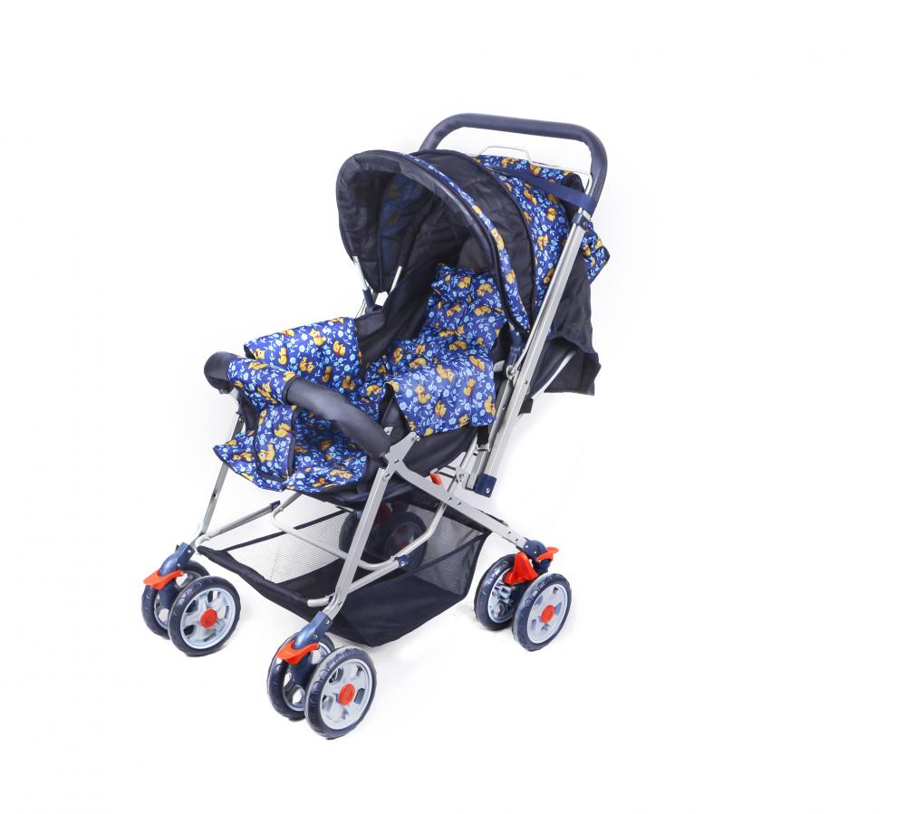 Whole Canopy Luxury Baby Stroller ( with Nursery Bag / Mommy Bag )