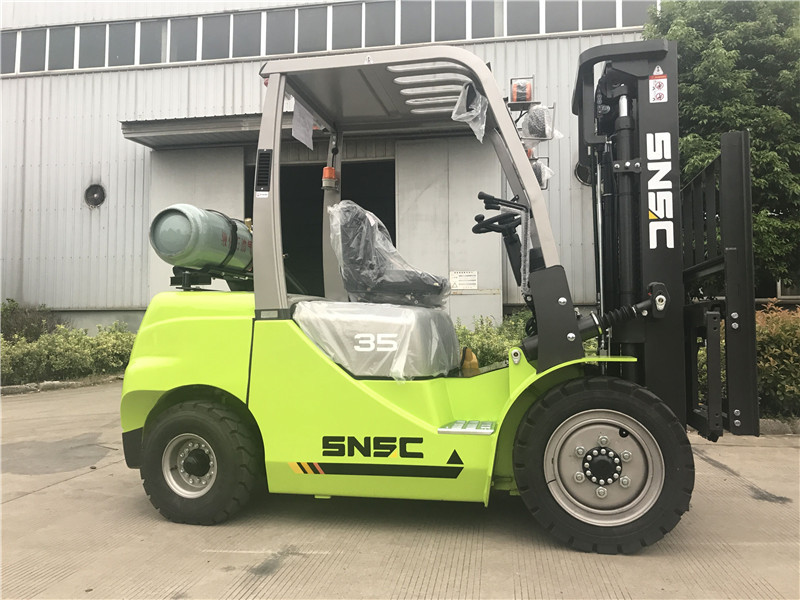 GLP 3.5ton gas forklift
