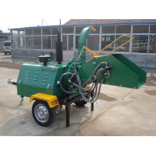 50HP diesel engine self power wood chipper