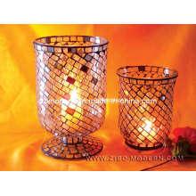 Elegant Mosaic Candle Holders (Zibo Modern)