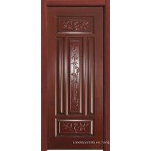 Puerta de madera (HDF-003)
