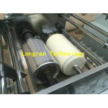 Linha de impressão nova impressora lustrosa da borda de borda do PVC da grão de madeira alta