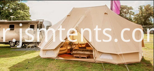 Canvas Bell Tent with Tarp