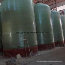 Tanque de fermentación de FRP hecho de la resina del grado del alimento