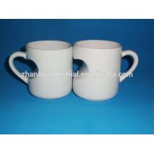 Tasse en céramique, tasses OEM, promotion cadeau personnalisé en porcelaine