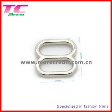 Boucle de métal en mousse existante, glissière d'anneau de lingerie pour soutien-gorge, chaussures