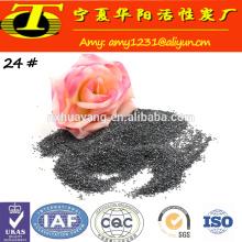 SiC 98.5% Materiales refractarios y abrasivos arena de carburo de silicio