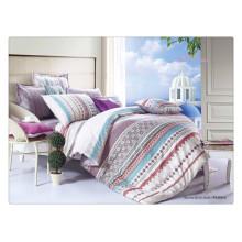 Schöner Luxus 40s 128 * 68 Pigmentdruck 100% Baumwolle benutzerdefinierte Duvet Set