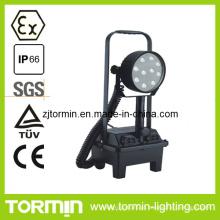 Luz portátil à prova de explosões do trabalho do diodo emissor de luz da bateria do diodo emissor de luz do CE