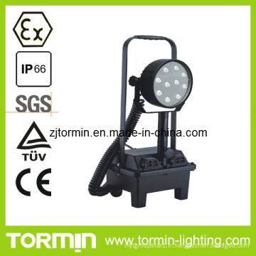 Lumière anti-déflagrante portative de travail de batterie de la batterie anti-déflagrante de la CE LED, lumière de travail de LED