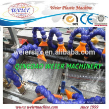 PE PP spiral wrapping tube extrusion plastic machinery