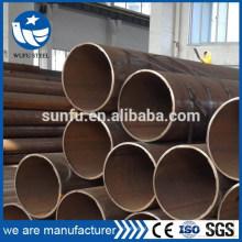 Estructura o suministro de agua ASTM A53 Gr.A Gr.B LSAW tubería de acero