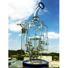 Enjoylife 2016 Neue Großhandel Recycler Borosilikat Material Glas Wasser Rohr mit Fabrik Preis