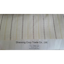 New Popular Project Stripe Corss Organza Voile Sheer Curtain Fabric 008269