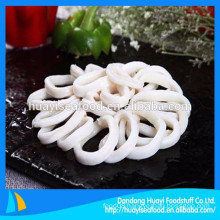 factory produce all sizes frozen illex squid ring