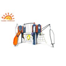 Kunststoffrohr-Rutschenspielplatzstruktur aus HPL im Freien