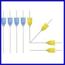 Aguja de anestesia dental médica desechable con CE, ISO aprobado