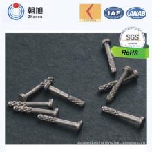 Remaches de acero no estándar en China Proveedor