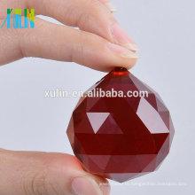 20мм люстры Красный Кристалл мяч призм Фэн-Шуй мяч