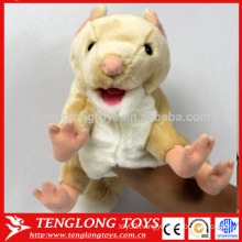 hand puppets and story plush dog hand puppet