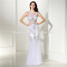 Women chiffon Party Dresses Sexy half sleeve white lace Maxi Long Dress long zip Skirt Evening Dresses