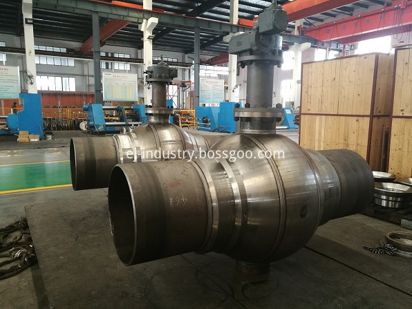 welded body ball valve