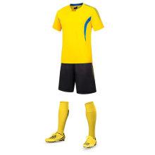 jersey de fútbol de jersey de fútbol 100% poliéster jersey de fútbol de alta calidad