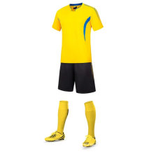 alta qualidade 100% poliéster futebol jersey uniforme de futebol novo design jersey futebol