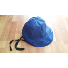 Dark Blue PU Rain Hat /Rain Cap/Raincoat for Adult