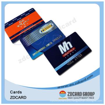 Transparent Printed Plastic Business Card Membership Card