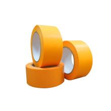 Decoração de parede laranja com fita adesiva removível de papel de arroz com ponta afiada