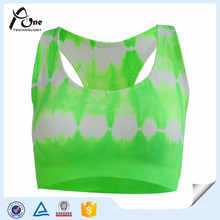 Ladies New Custom Design and Sublimation Nude Sports Bra