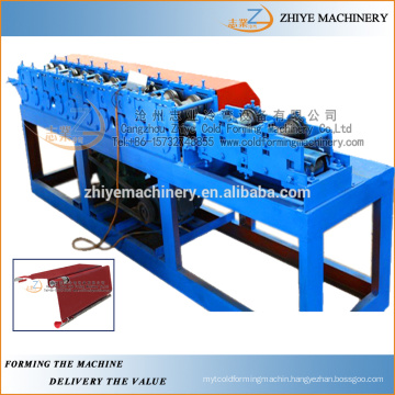 fireproof door frame cold making production line/Slide shutter door manufacturer machine