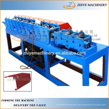 Quadro de porta à prova de fogo frio fazendo a linha de produção / máquina do fabricante da porta do obturador de corrediça
