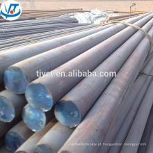 MS laminado a alta temperatura, aço carbono, barra redonda do aço de liga preço barato