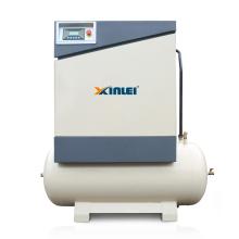 XLAMT7.5A-20A  high pressure screw carrier air compressor unit with tank