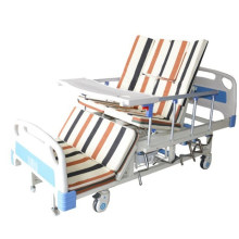 Hospital Use ABS Board Hospital Bed with Five Cranks