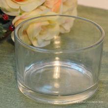 Frasco de vidrio esmerilado para la fabricación de velas