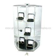 Acrylic Jewelry Rotating Display Stand