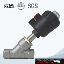 Stainless Steel Plastic Pneumatic Angle Seat Control Valve (JN-STV1002)
