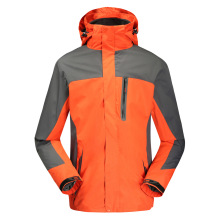 Orange Snowboarding Jacket and Mountain Wear