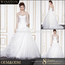 New arrival product wholesale bridal dress cusomized alibaba